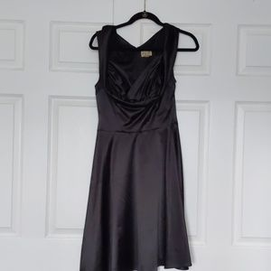 Black 1950s style dress